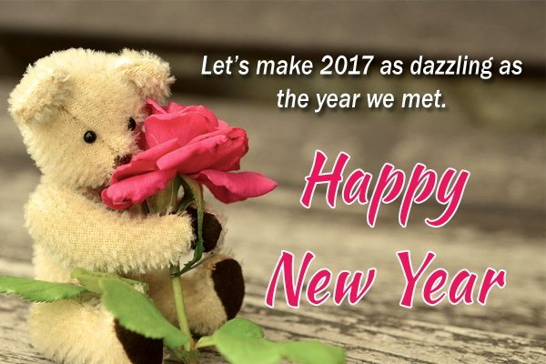 Happy New Year Wishes 2017 in English