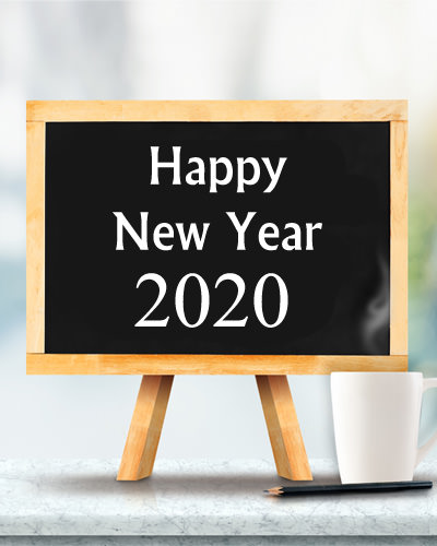 Happy New Year 2020 Display Photo